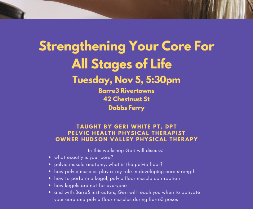Strengthening Your Core For All Stages of Life