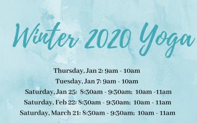 HVPT Winter 2020 Yoga