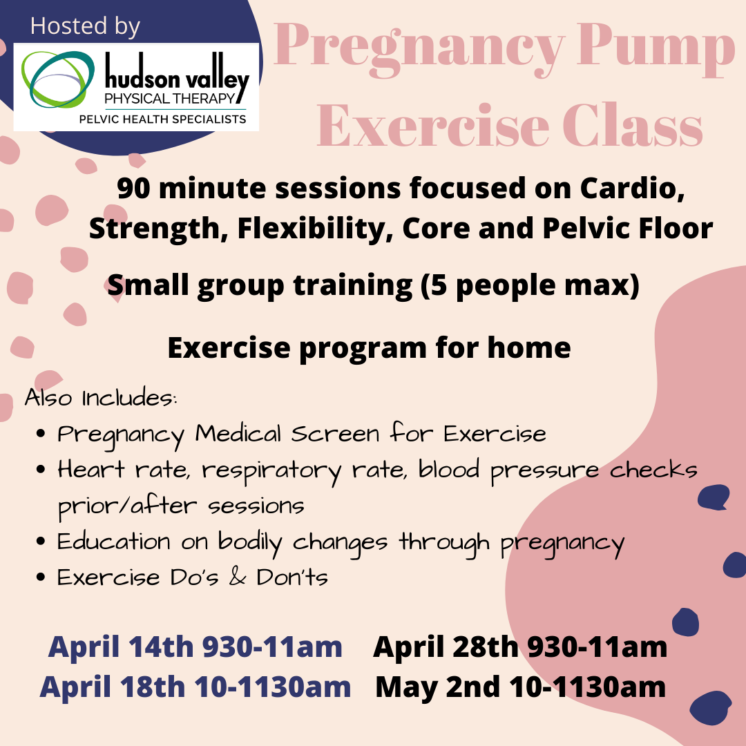 Pregnancy Pump Exercise Classes