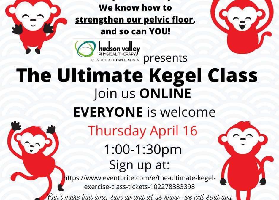 The Ultimate Virtual Kegel Class
